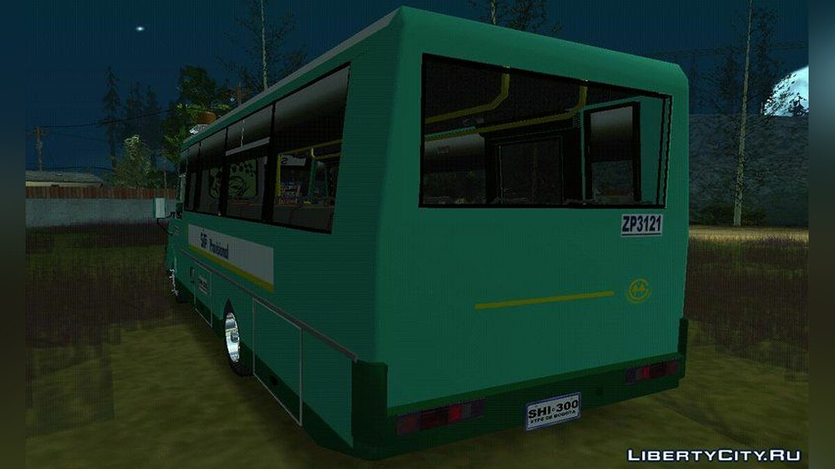Bus Iveco Daily for GTA San Andreas