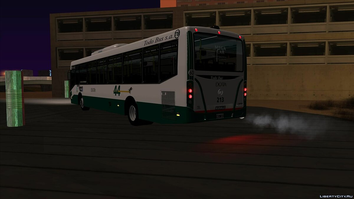 Bus Linea 44 Todobus Pompeya II Agrale MT17 Interno 213 ImVehFt for GTA San Andreas