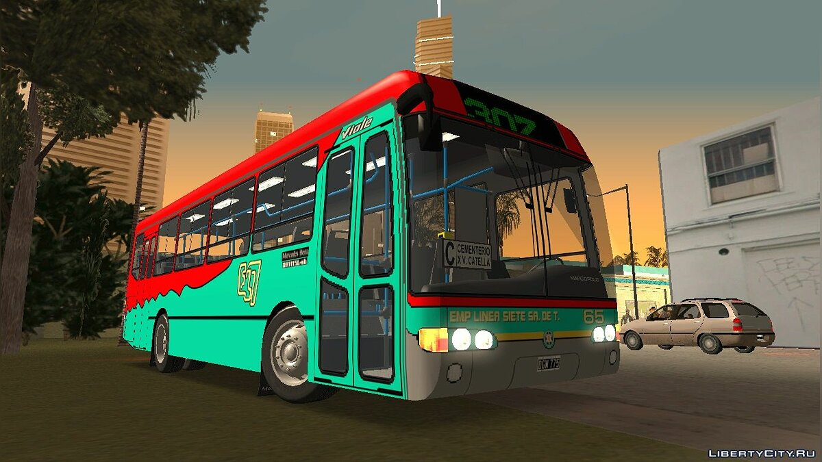 Bus Marcopolo Viale OH1115L - Line 307 for GTA San Andreas