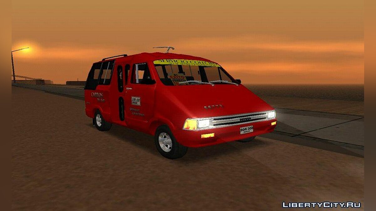 Bus Toyota Hilux Colectivo Colombiano for GTA San Andreas