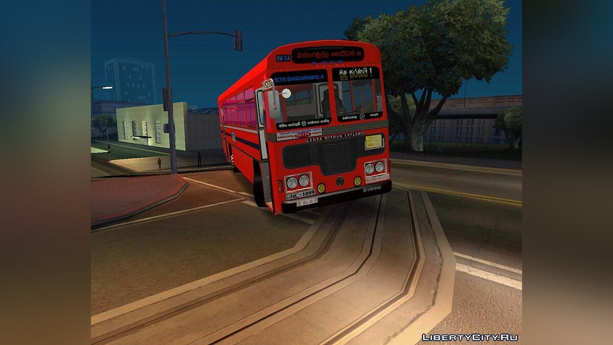 Bus Diyawannawa Express SLTB Bandarawela for GTA San Andreas