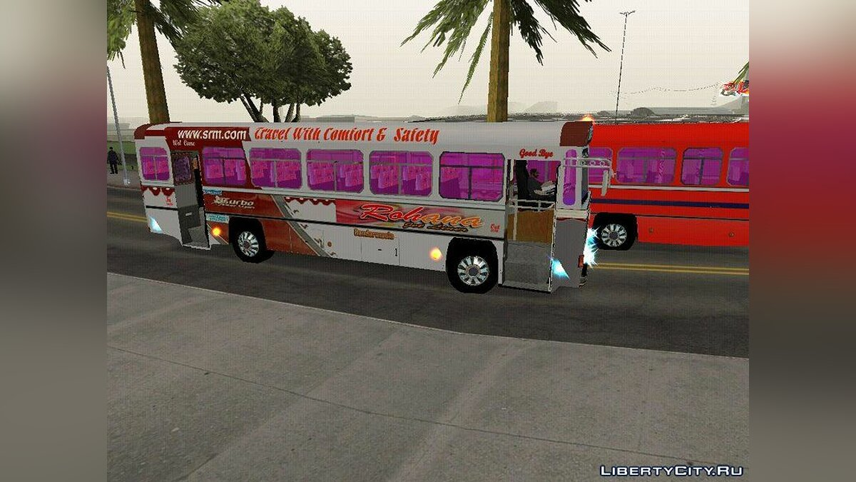 Bus Rohana jet liner for GTA San Andreas