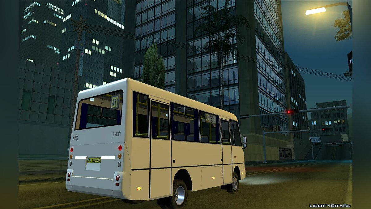 Bus ZAZ A07A I-VAN for GTA San Andreas
