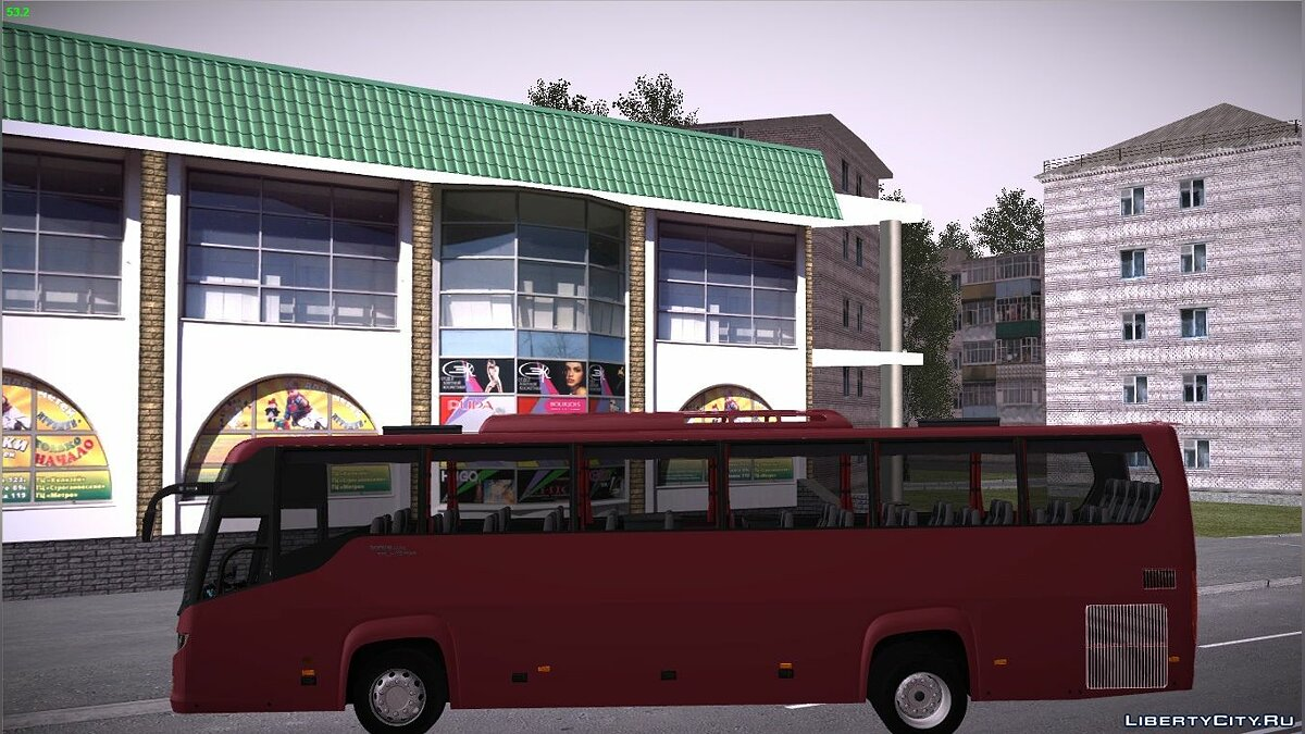 Bus Scania touring for GTA San Andreas