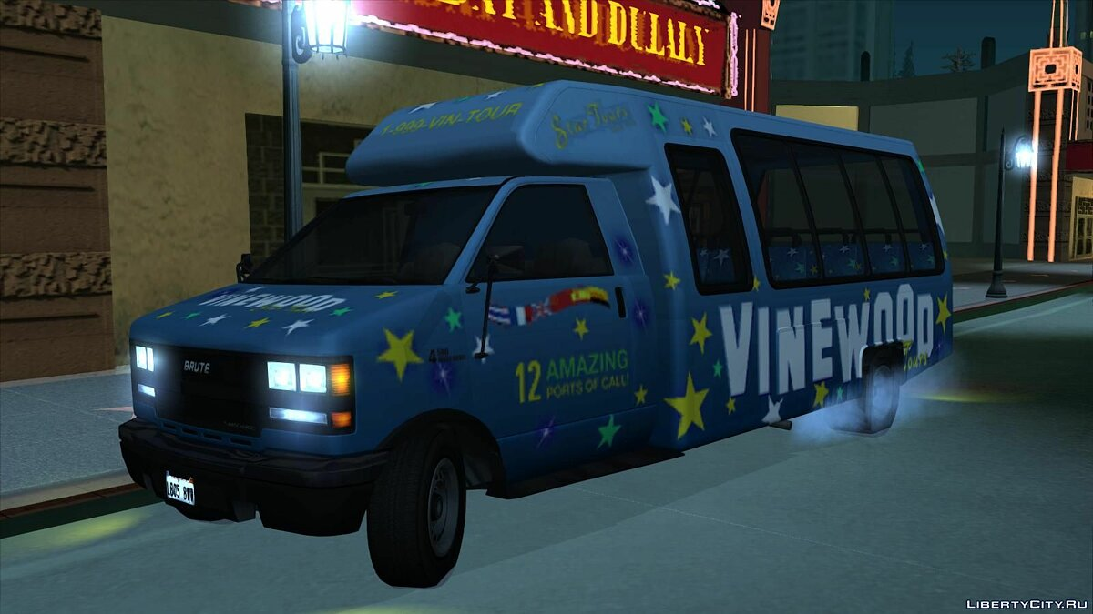 GTA V coach for GTA SA for GTA San Andreas - screenshot #3