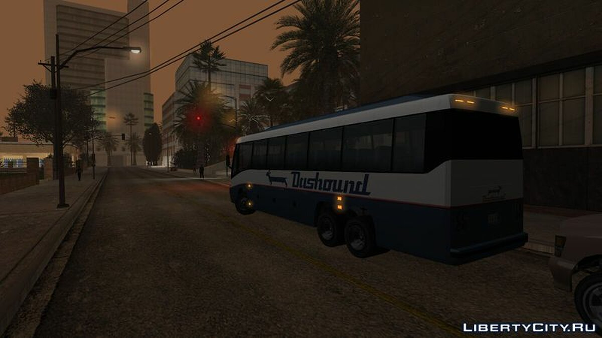 Bus GTA 5 Brute Dashound for GTA San Andreas