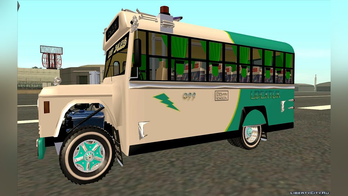 Bus Rurales Dodge D500 and Y D600 Buses for GTA San Andreas