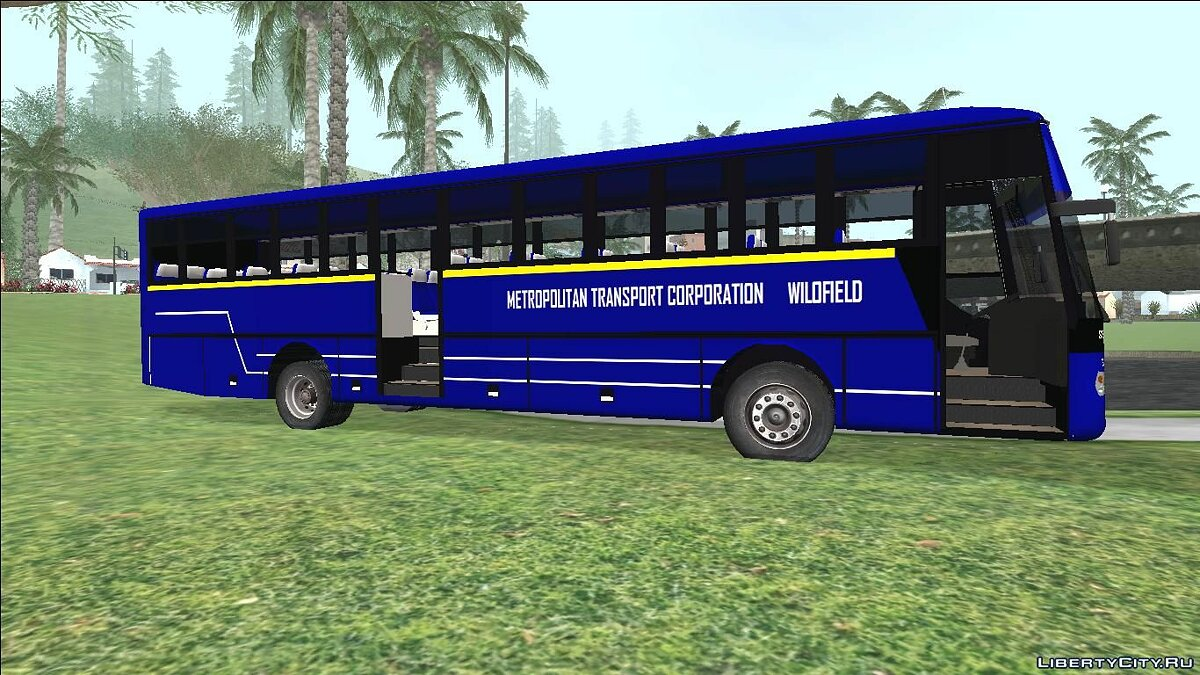 Bus Metropolitan Trans Wilofield Bus for GTA San Andreas