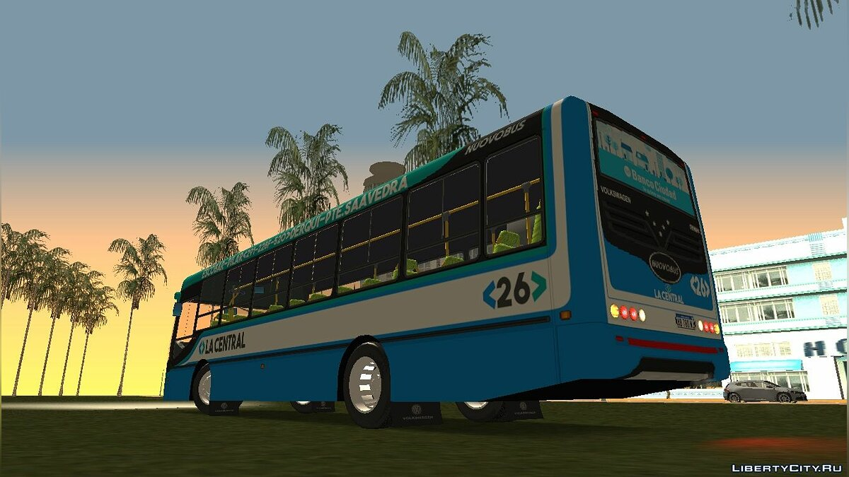 Bus Nuovobus Menghi VW 15-190 EOD - Line 291 for GTA San Andreas