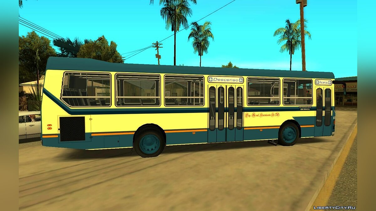 Bus Ottaviano MB OH1621 - Line 176 for GTA San Andreas