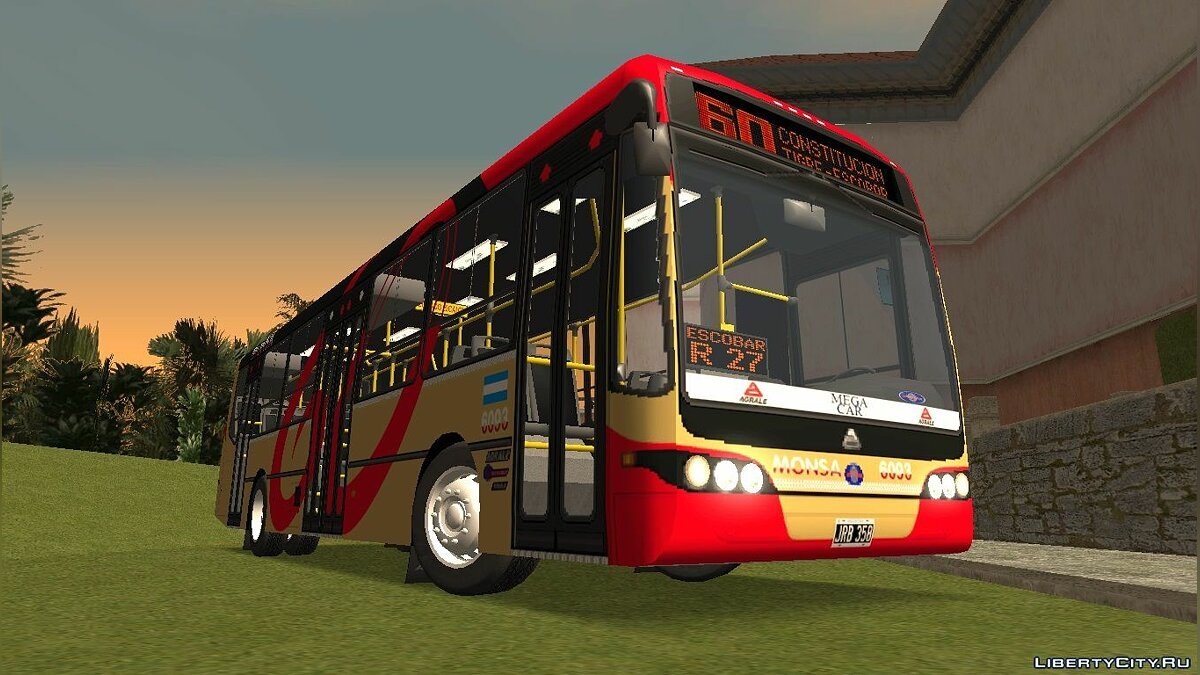 Bus Nuovobus BamBam Agrale MT15 - Line 60 for GTA San Andreas
