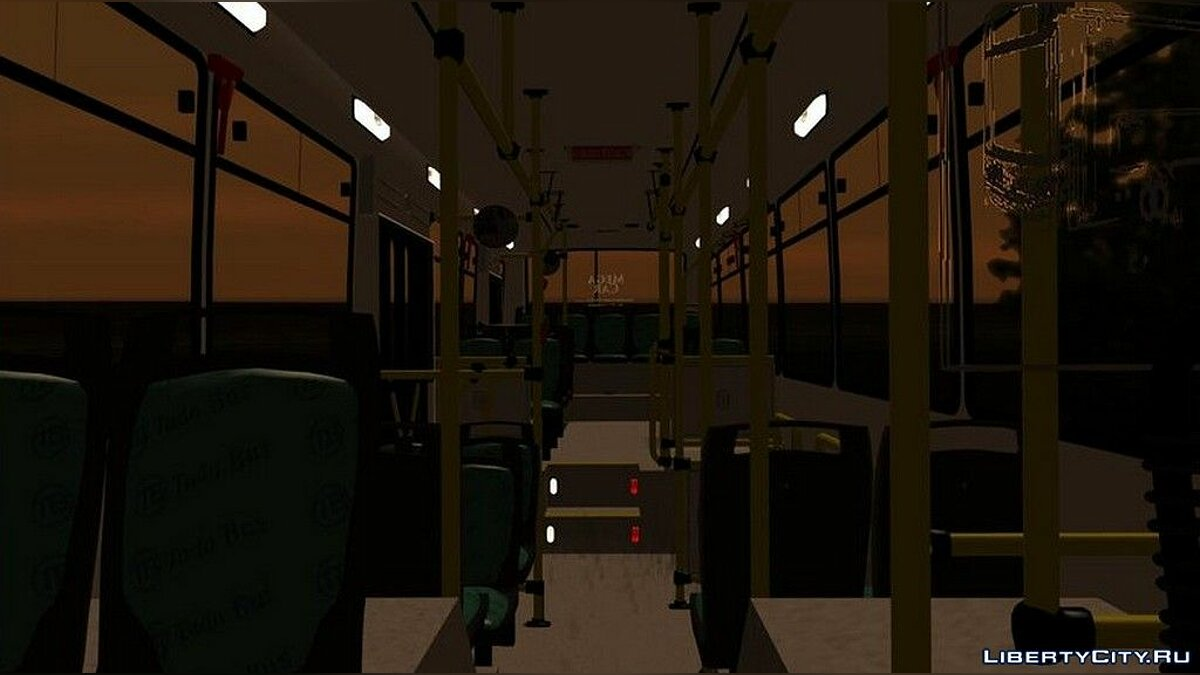 Bus Linea 56 Todobus Pompeya II Agrale MT15 Interno 1044 ImVehFt for GTA San Andreas
