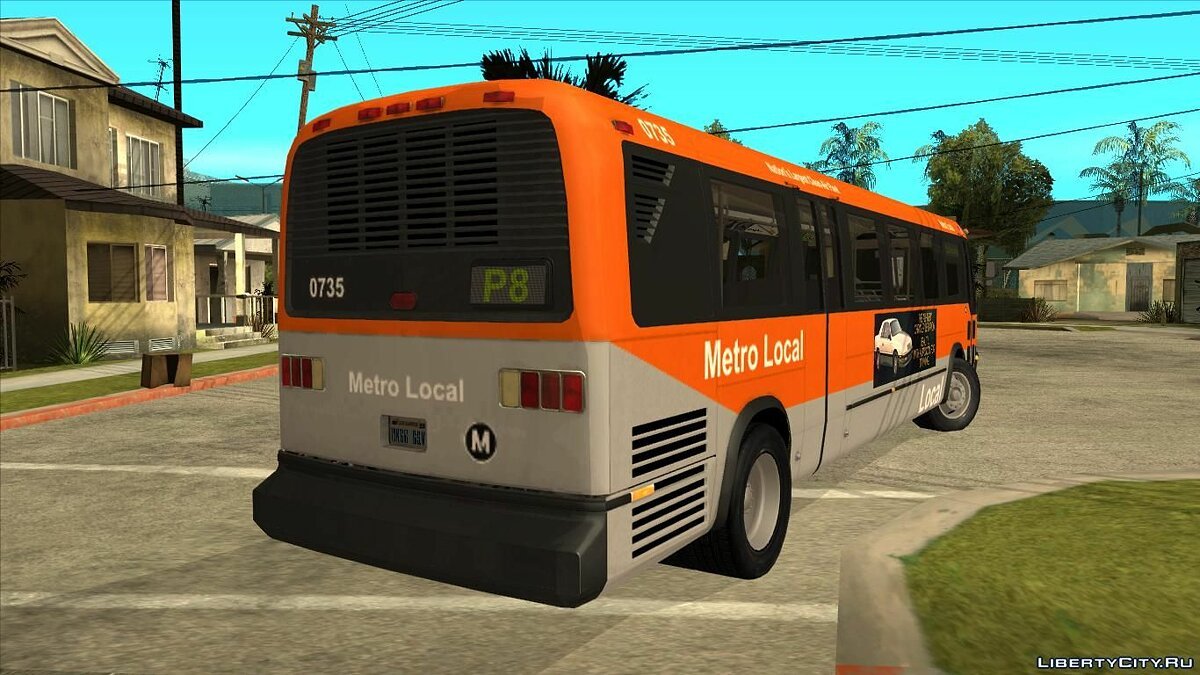 Bus 1988 GMC RTS for GTA San Andreas