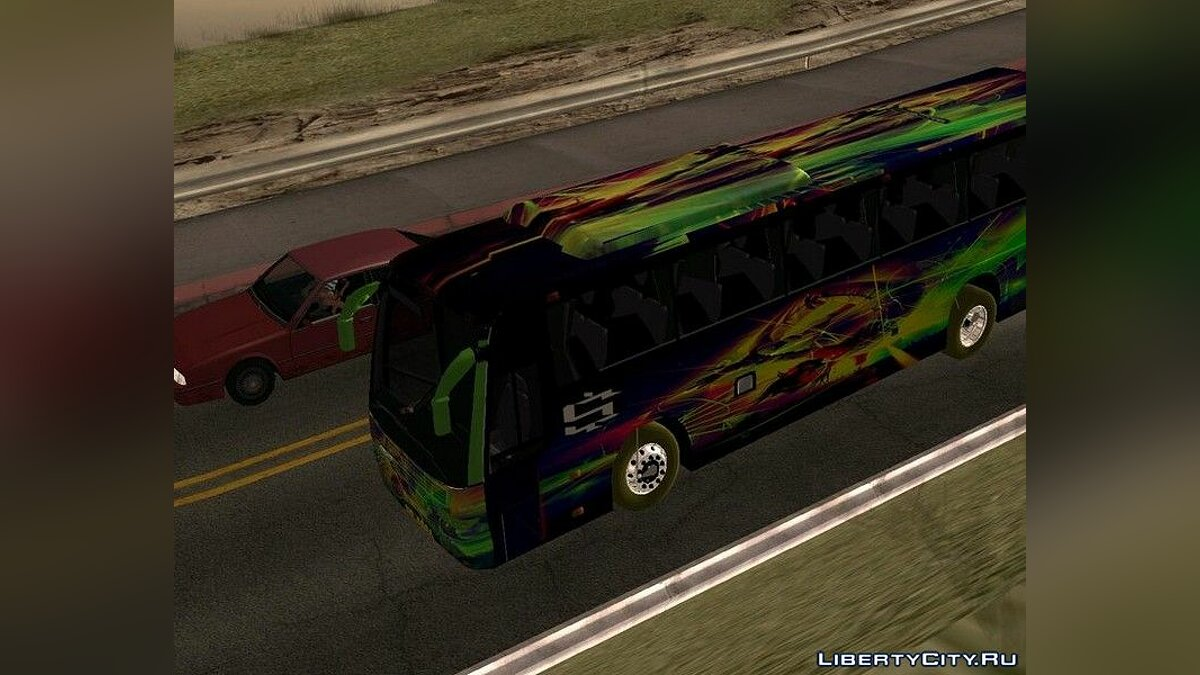 Bus Volvo bus for GTA San Andreas