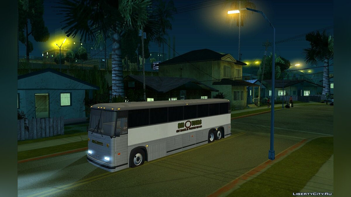 Bus Tourist bus MC-12 1994 for GTA San Andreas