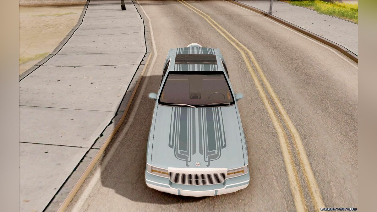 Cadillac car Cadillac Fleetwood 1993 for GTA San Andreas