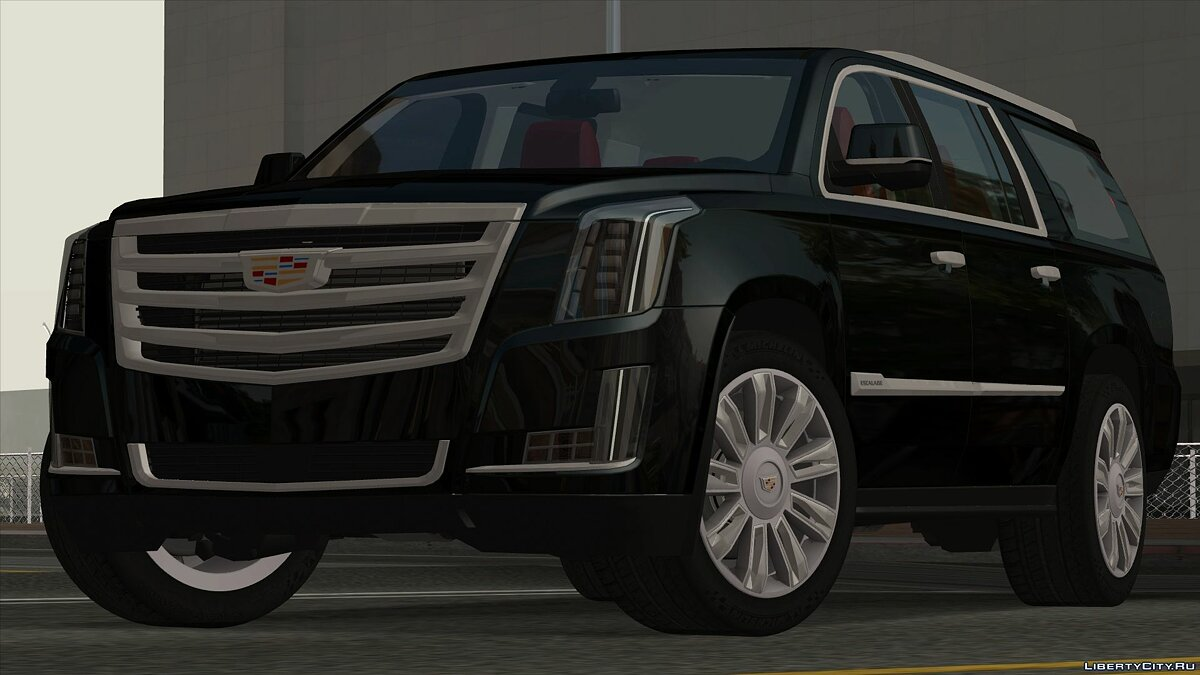 Cadillac car Cadillac Escalade (ver.2) for GTA San Andreas