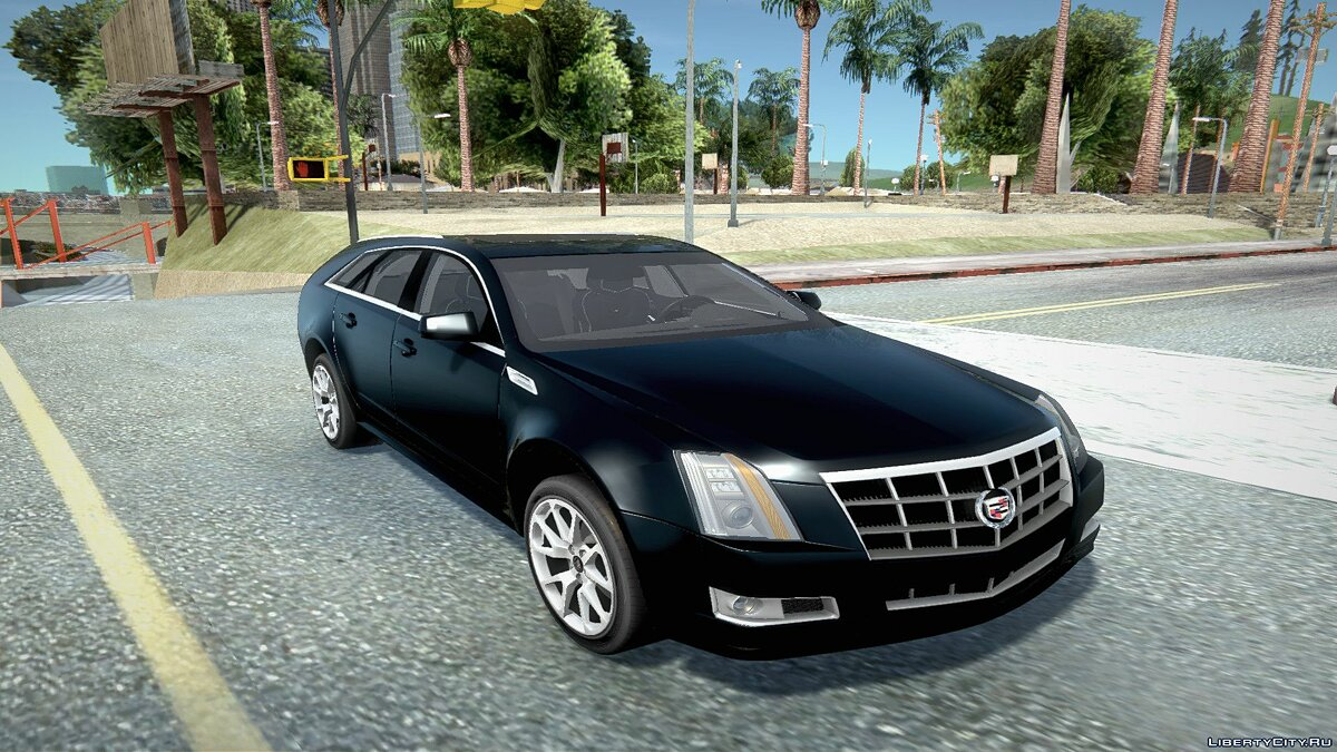 Cadillac car Cadillac CTS 290 for GTA San Andreas