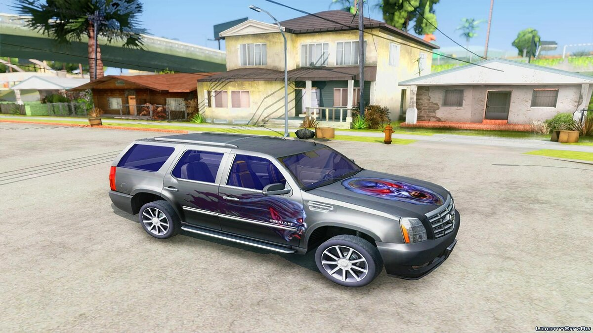 2007 Cadillac Escalade for GTA San Andreas - screenshot #4