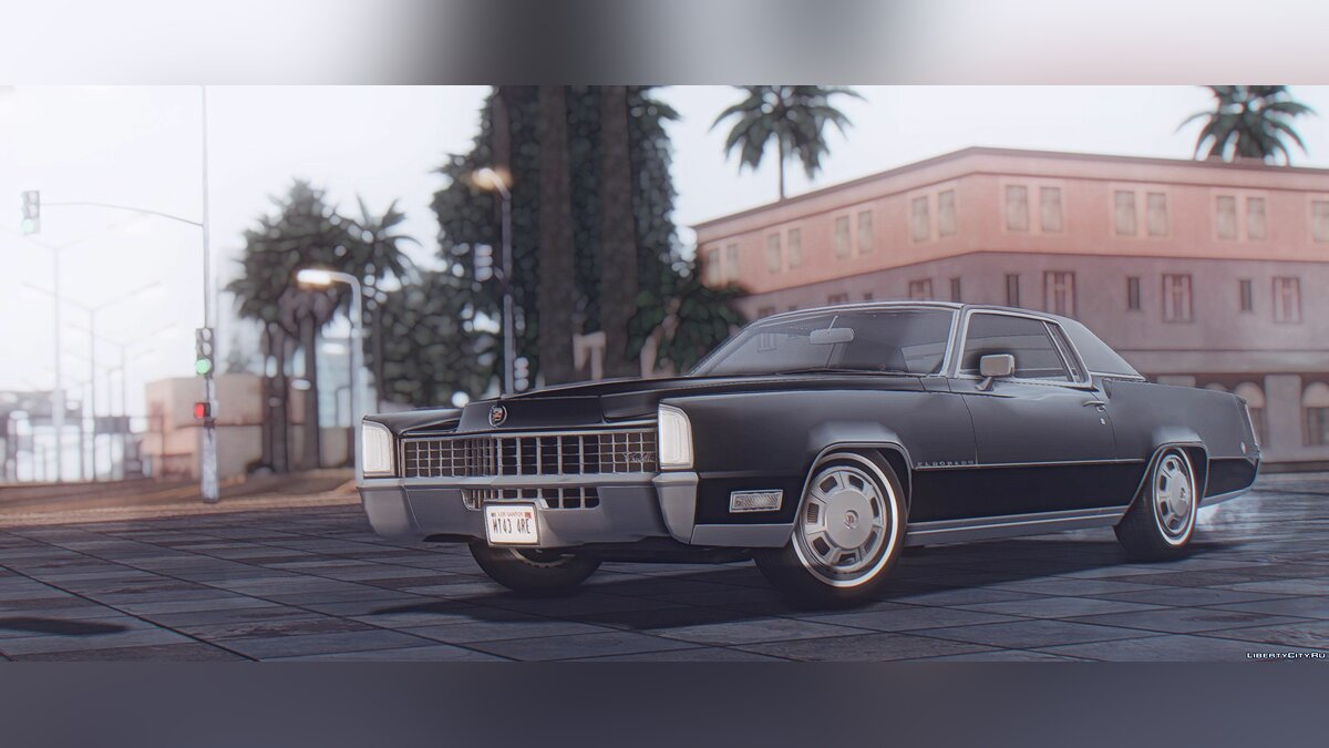 Cadillac car Cadillac Fleetwood Eldorado (69347-H) 1968 for GTA San Andreas