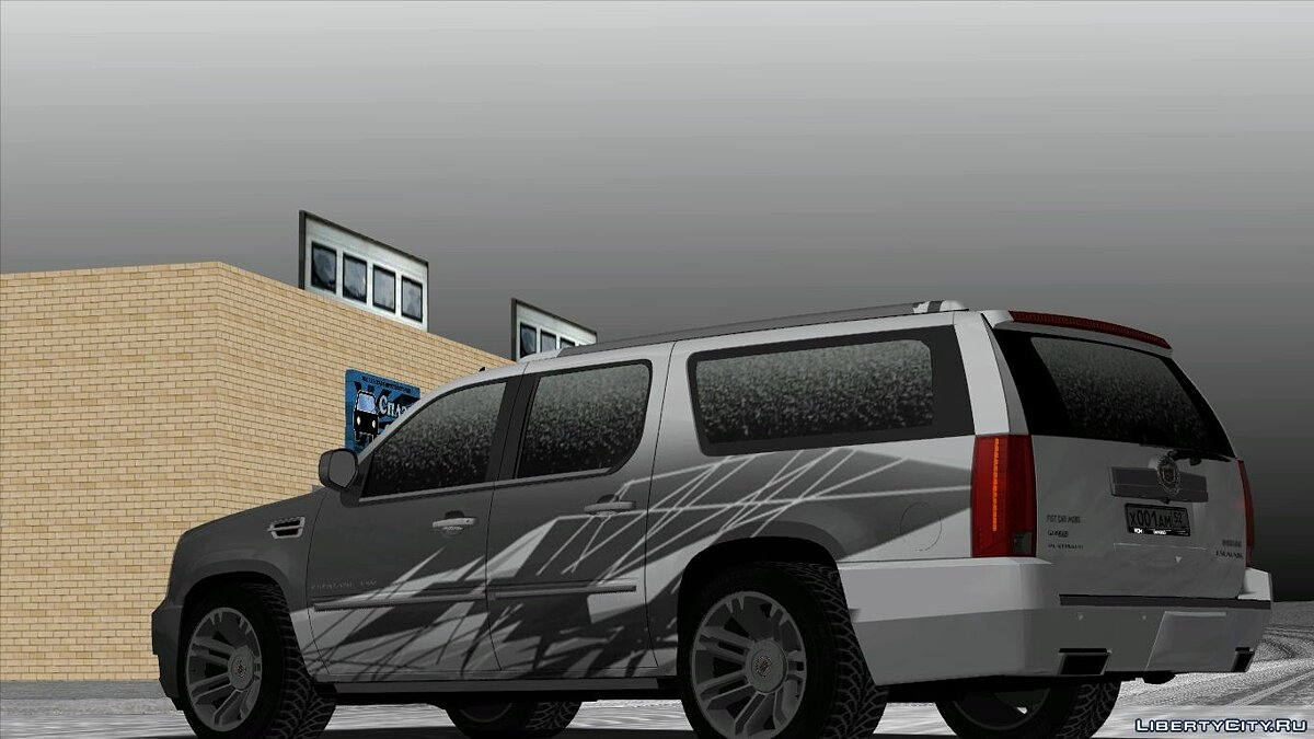 Cadillac car Cadillac escalade for GTA San Andreas