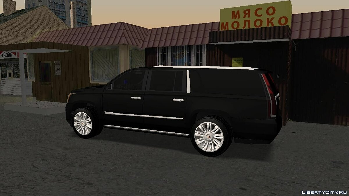 Cadillac car Cadillac Escalade FSB for GTA San Andreas
