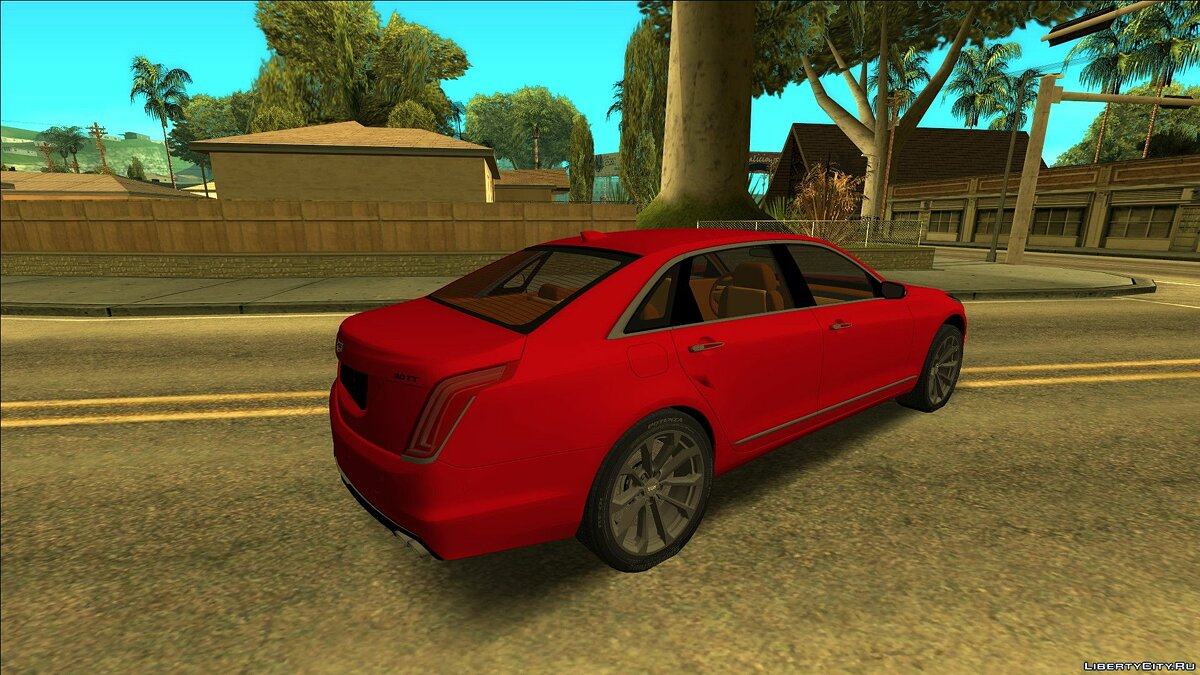 Cadillac car Cadillac CT6 for GTA San Andreas