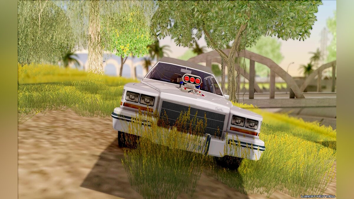Cadillac car Cadillac Fleetwood 1985 Hearse for GTA San Andreas