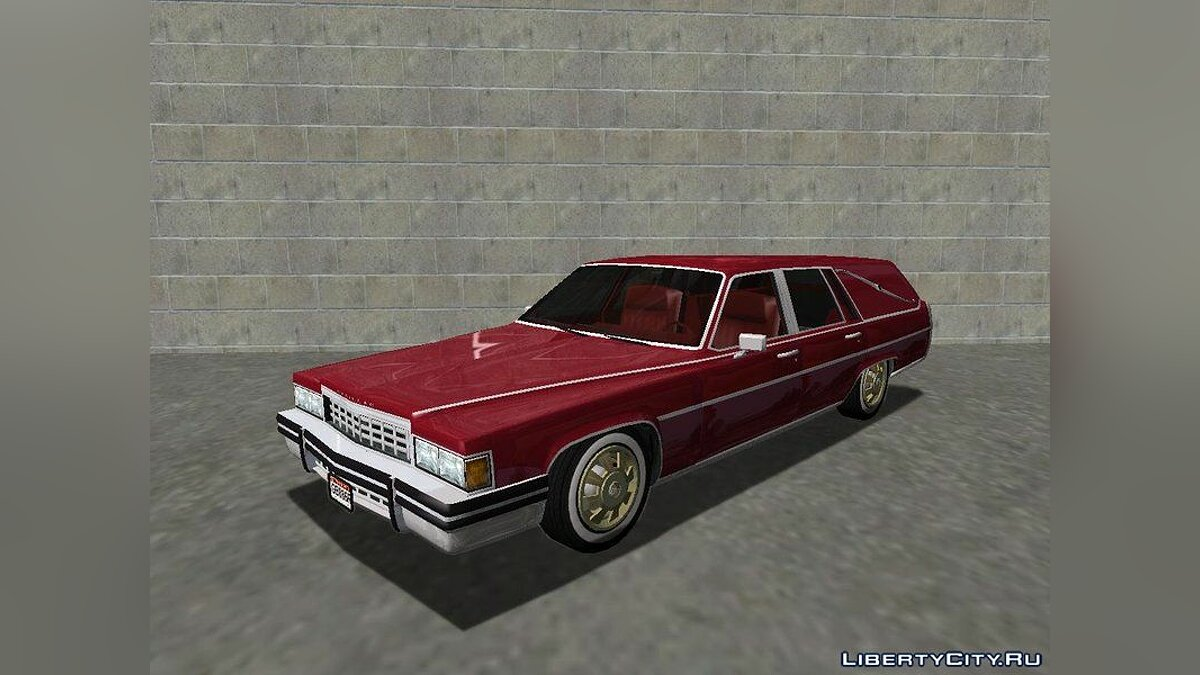 Cadillac car 1985 Cadillac Fleetwood Hearse (Romero style) v1.0 for GTA San Andreas