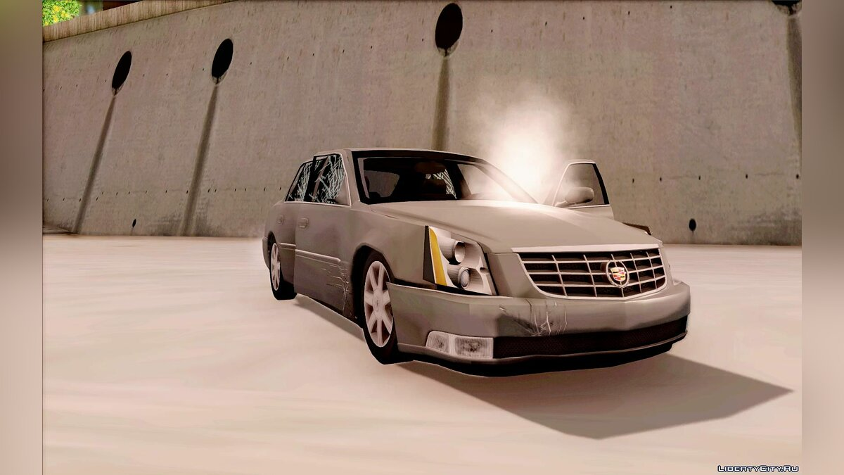 Cadillac car Cadillac DTS 2010 for GTA San Andreas