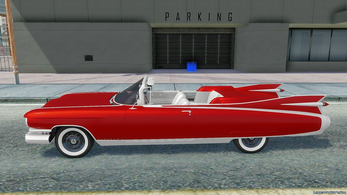 Cadillac car 1959 Cadillac Eldorado Biarritz Convertible for GTA San Andreas