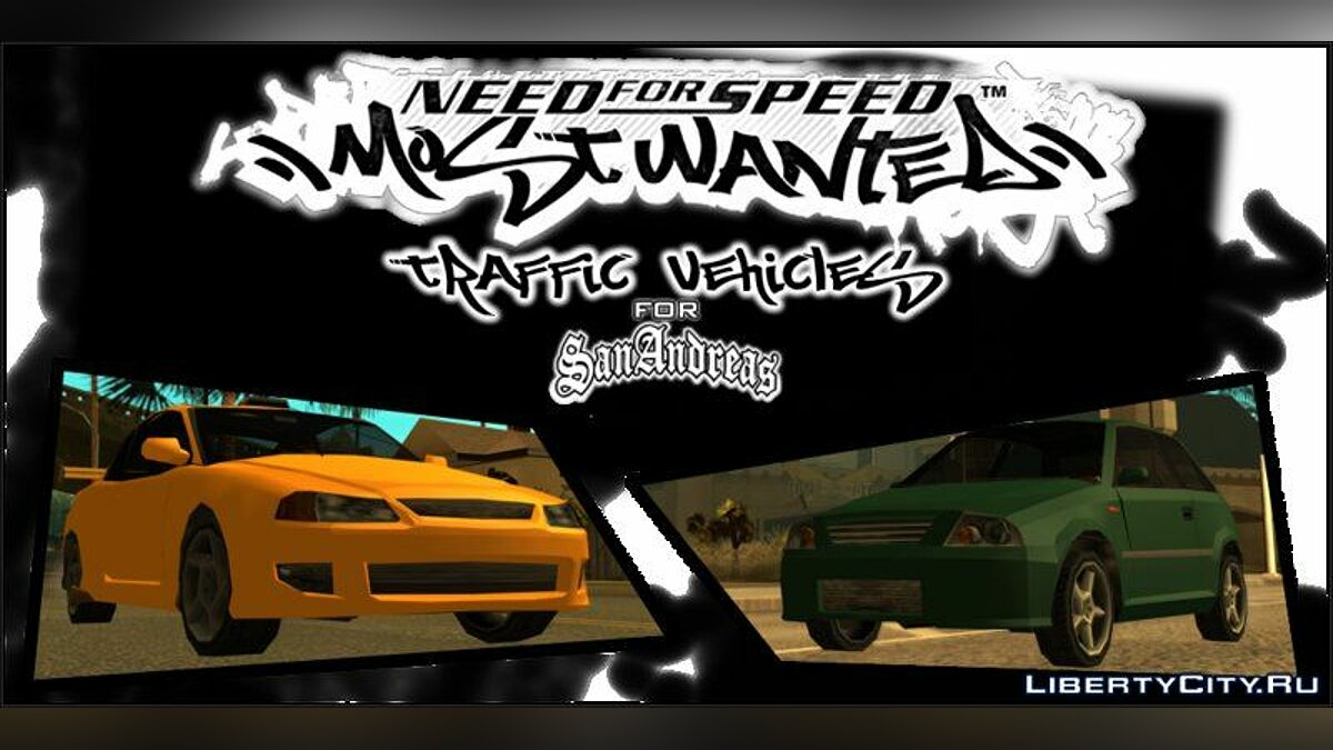 Car packs Pak cars from NFS: MW for GTA San Andreas