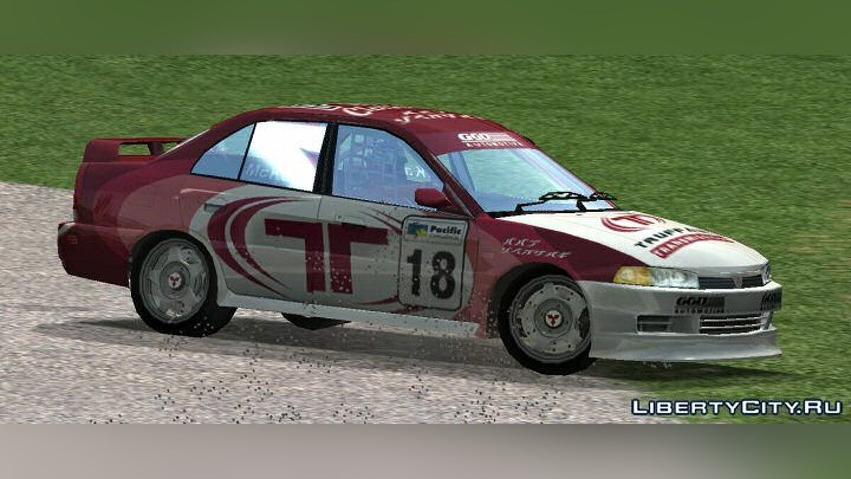 Car packs Racing cars from TOCA race driver for GTA San Andreas