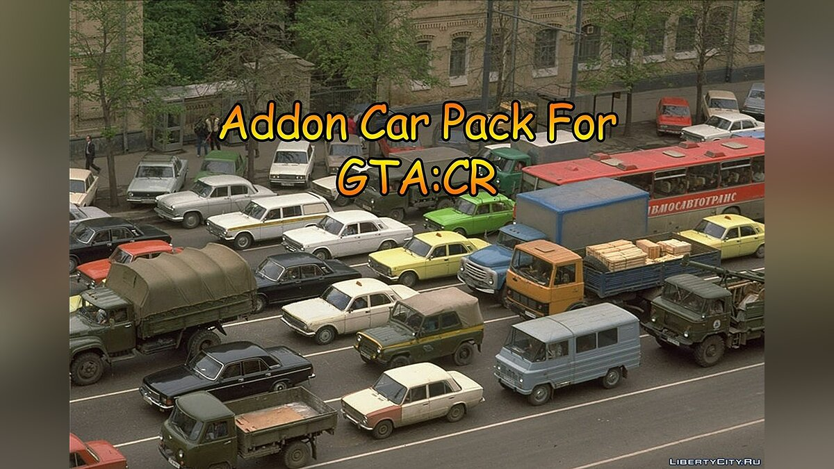 Car packs Additional cars for GTA Criminal Russia for GTA San Andreas