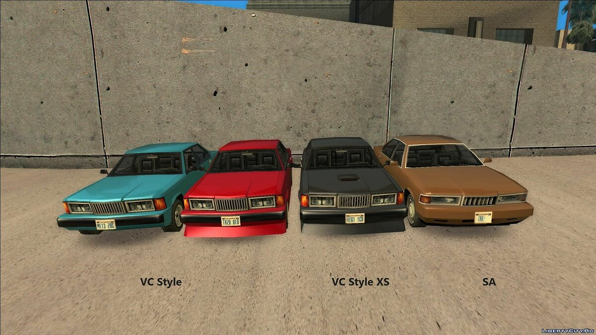 Car packs Transport from Vice City (without replacement) for GTA San Andreas