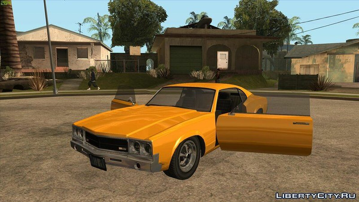 Car texture Saber hd for GTA San Andreas