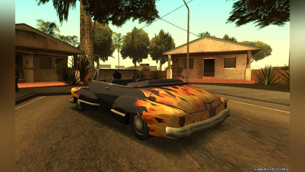 Car texture Original paintwork for lowriders in HD for GTA San Andreas
