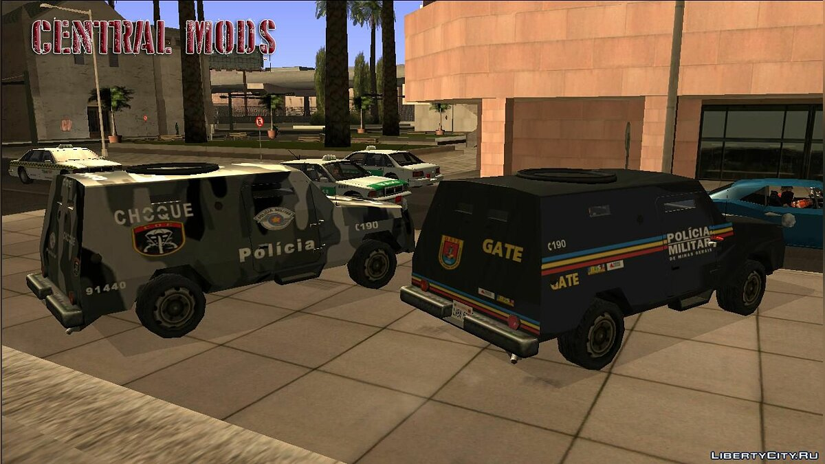 Car texture Swatvan - COE / GATE for GTA San Andreas