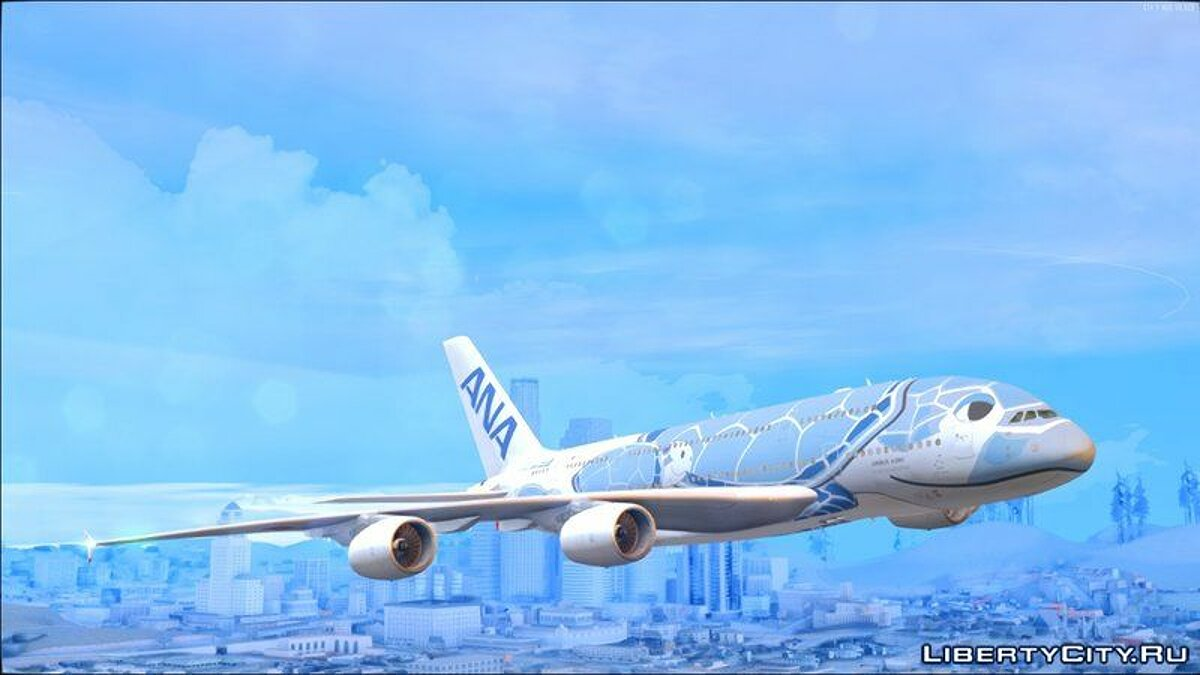 Car texture Airbus A380-800 Livery Pack for GTA San Andreas