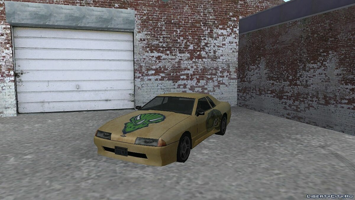 Car texture Dino paint jobs for Elegy for GTA San Andreas