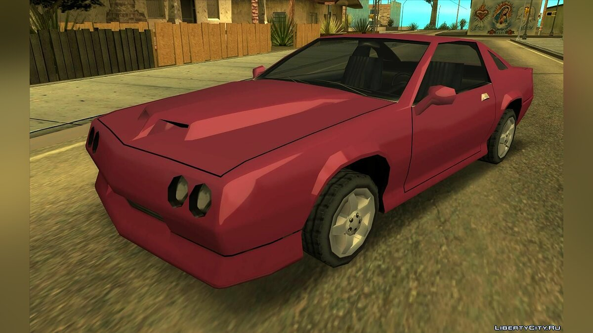 Car texture Retexture of the original transport in HD (Update 06/28/21) for GTA San Andreas