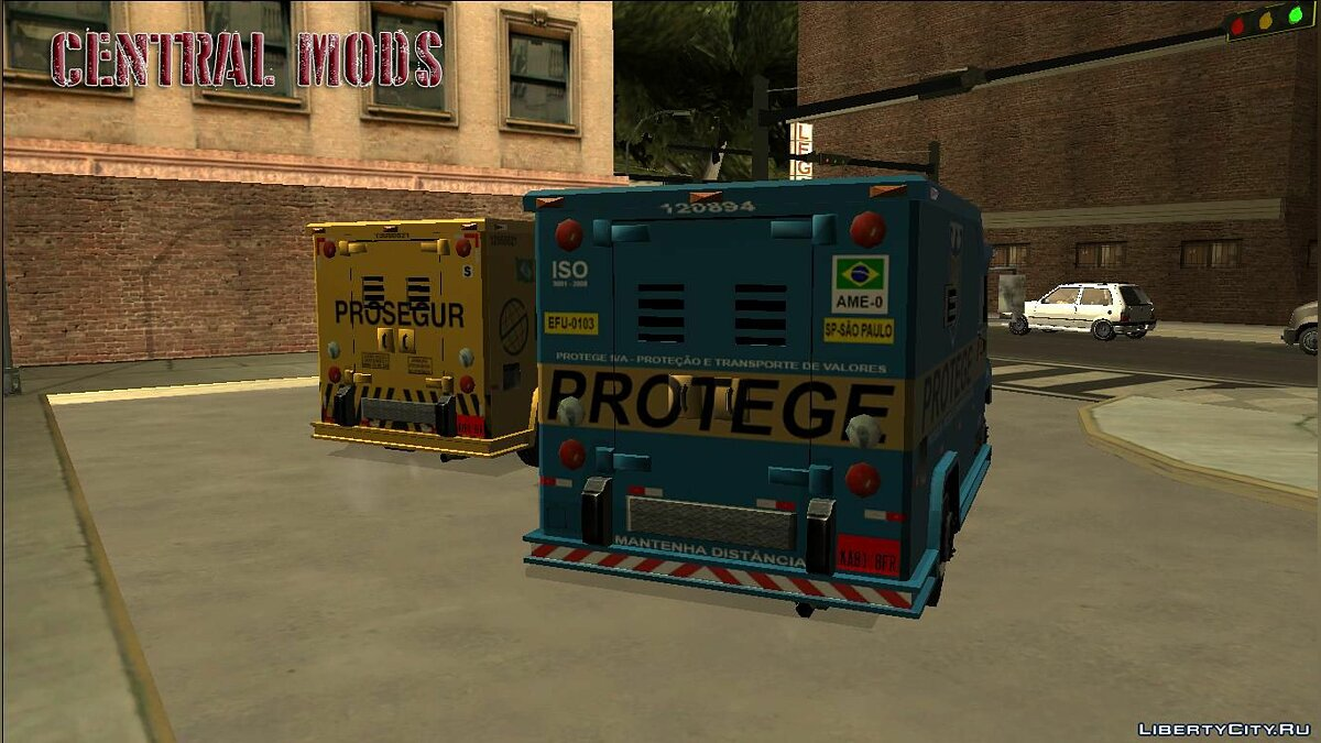 Car texture Securica - Carro Forte - Armored Special Forces Truck for GTA San Andreas