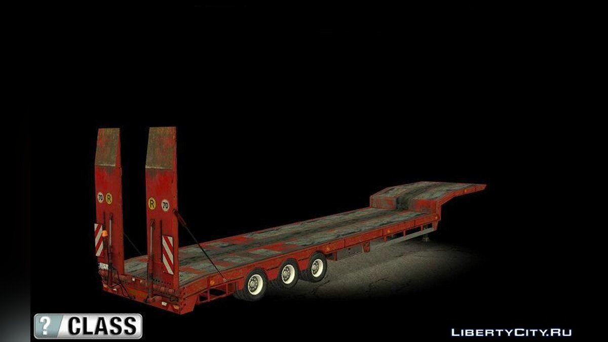 Car trailer Overweight Trailer - Stock for GTA San Andreas