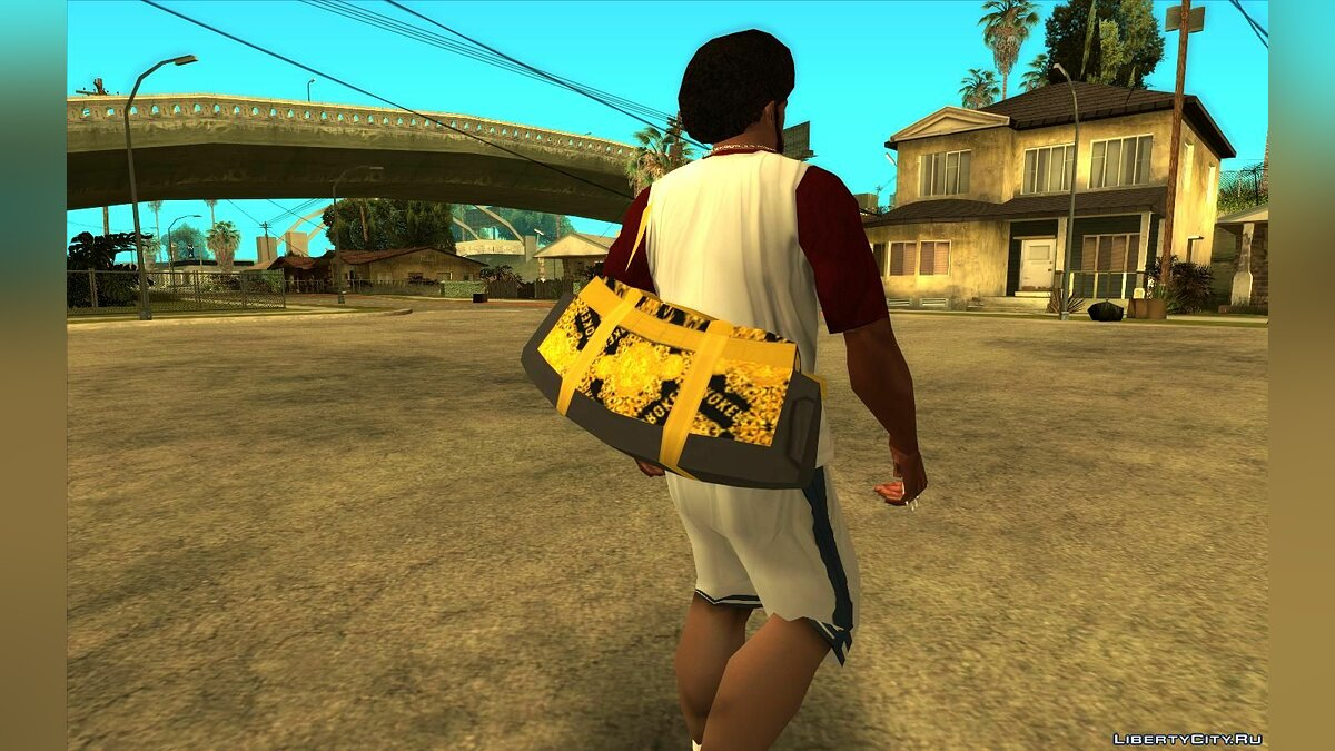 Watches and chains Sports bags from GTA Online for GTA San Andreas