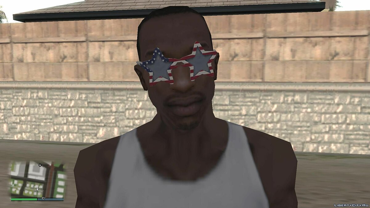 Watches and chains Points for Carl from GTA Online Independence Day for GTA San Andreas