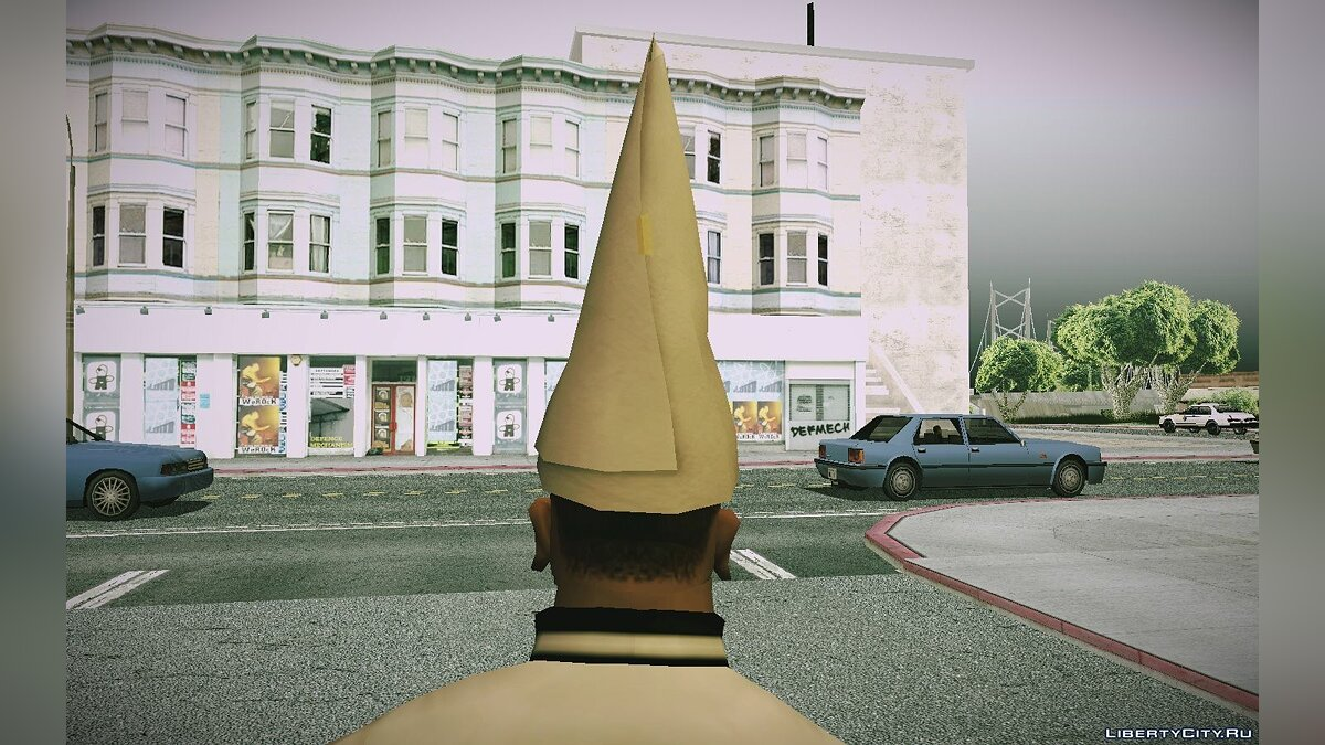 Watches and chains GTA 5 DUNCE CAP for GTA San Andreas