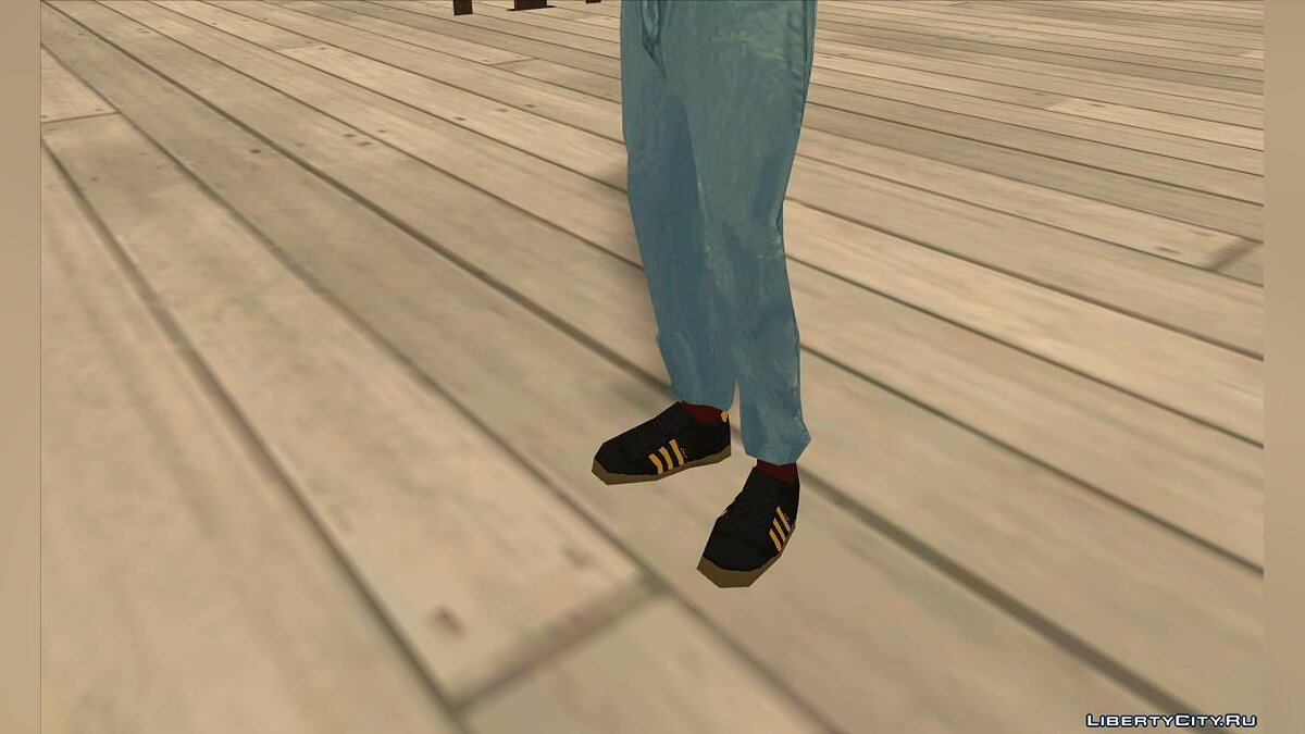 Watches and chains Sneakers Adidas Hamburg X watch G-Shock for GTA San Andreas