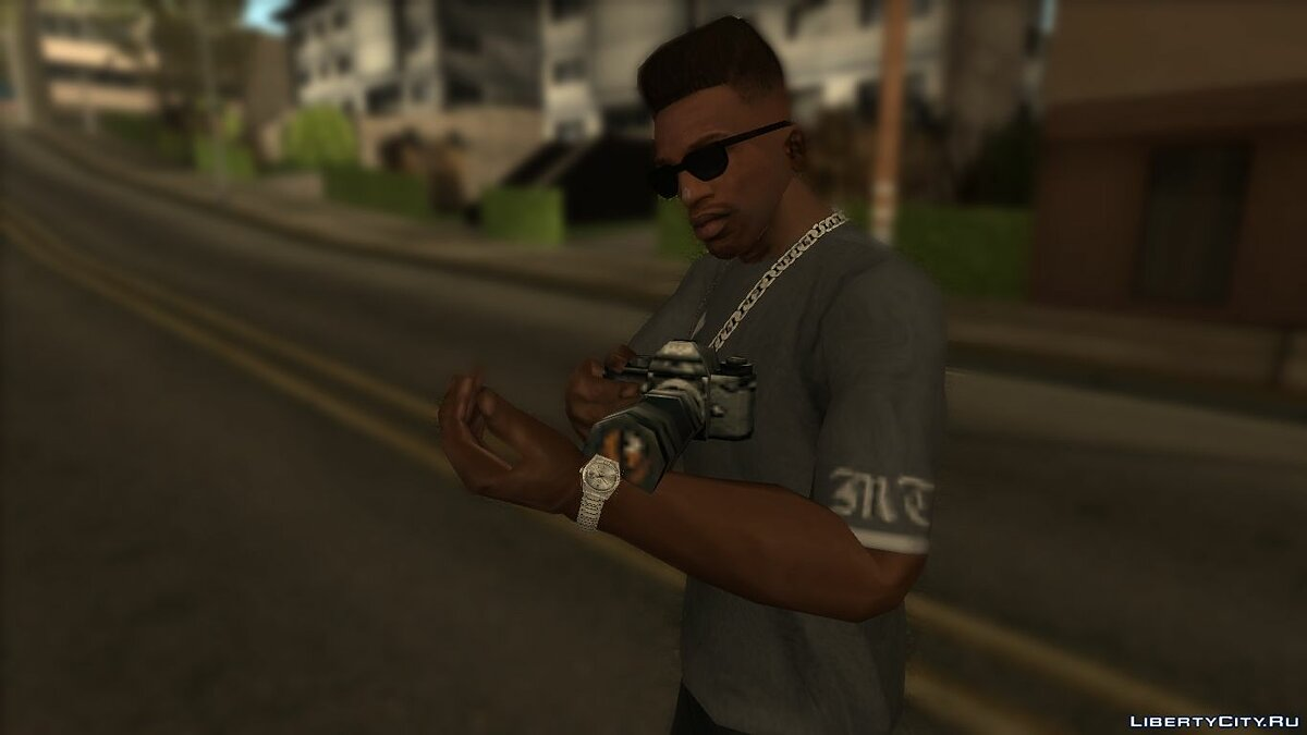 Watches and chains Rolex Watches for GTA San Andreas