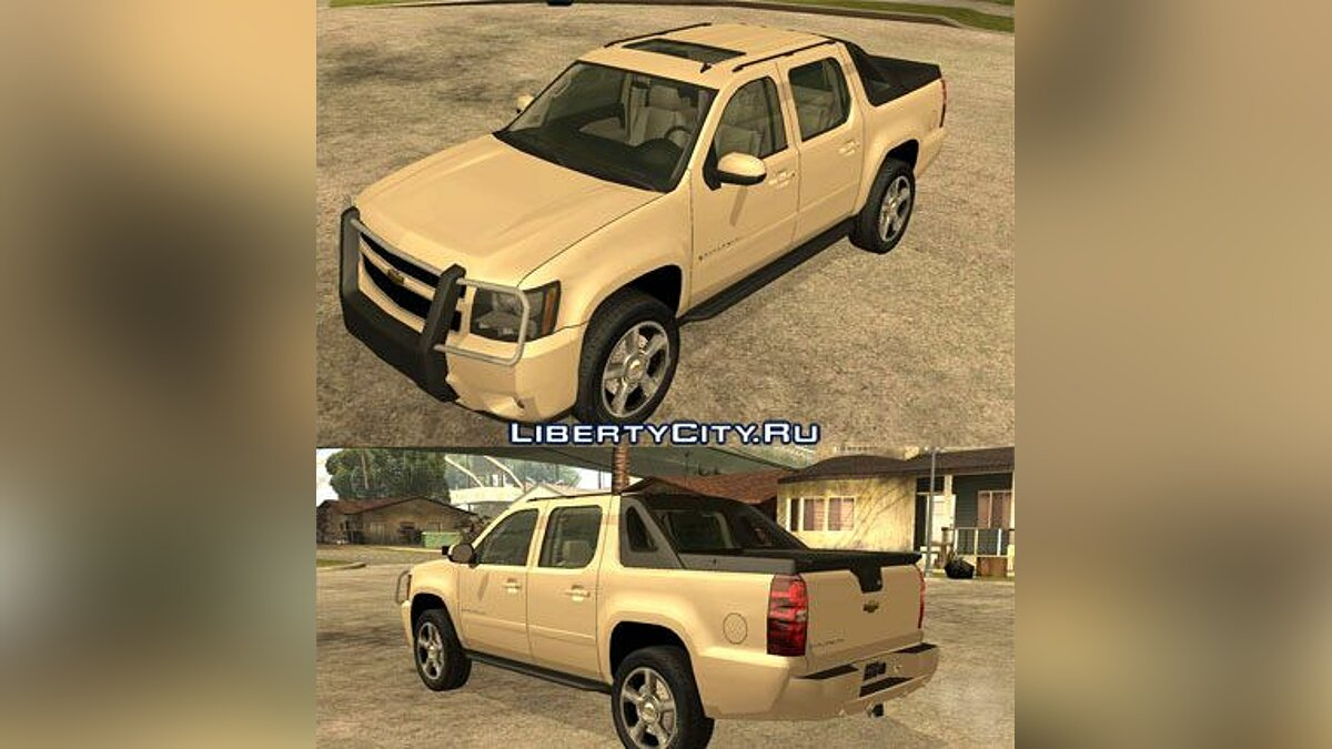 2007 Chevrolet Avalanche 1.2 for GTA San Andreas - Картинка #1