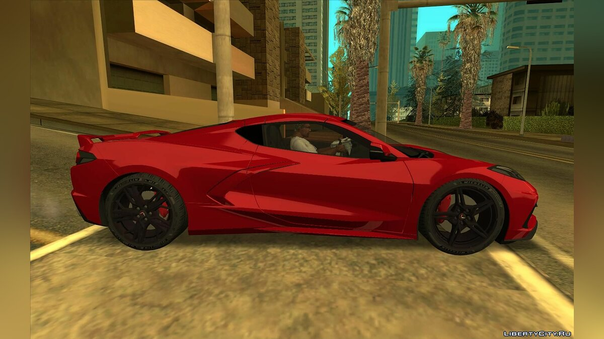 Chevrolet car Chevrolet Corvette C8 for GTA San Andreas
